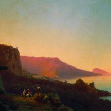 Вечер в Крыму. Ялта. 1848 год.