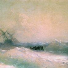 Буря на море. 1893 год.