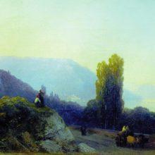 По дороге в Ялту. 1860-е год.