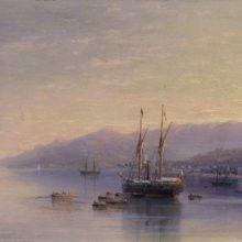 Берег Ялты. 1885 год.