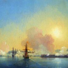 Вход в Севастопольскую бухту. 1852 год.