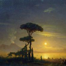 Неаполитанский залив. 1845 год.