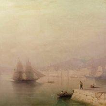 Утро. Морской залив. 1878 год.