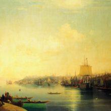 Вид Константинополя. 1849 год.