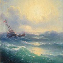 Море. 1898 год.