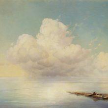 Облако над тихим морем. 1877 год.
