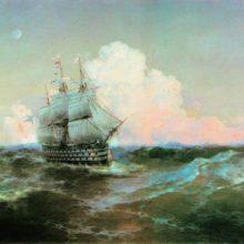 Корабль «Двенадцать апостолов». 1897 год.