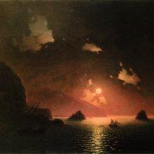 Гурзуф ночью. 1849 год.