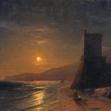 Лунная ночь. 1862 год.