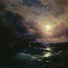 После бури. Восход луны. 1894 год.
