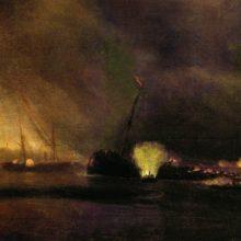 Взрыв трехмачтового парохода в Сулине 27 сентября 1877 года. 1878 год.