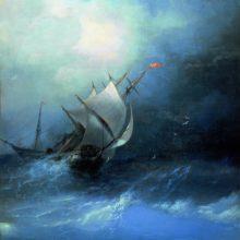 Буря на Ледовитом океане. 1864 год.
