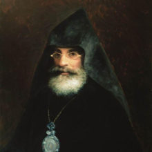 Портрет брата художника Габриэла Айвазяна. 1883 год.
