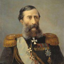 Портрет Лорис-Меликова. 1888 год.