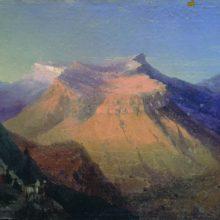 Вид Гуниба. 1868 год.