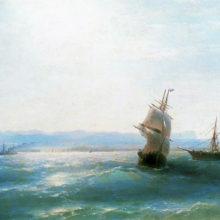 Солнечный день. 1884 год.