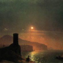 Вид Вико близ Неаполя. 1855 год.