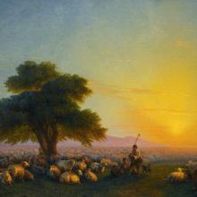 Овцы. 1858 год.