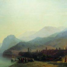 Алушта. 1878 год.