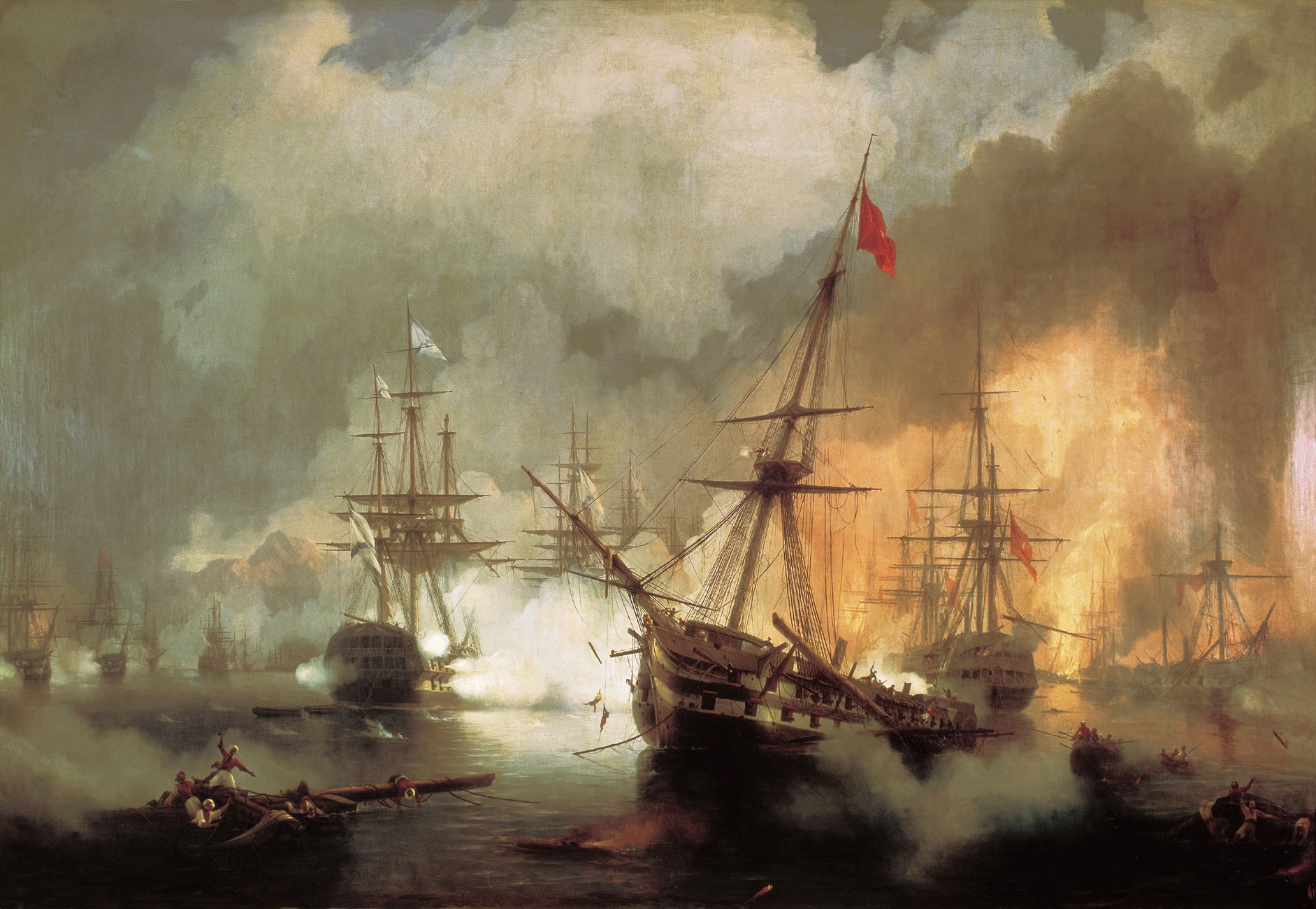 Bataille de Navarin 1827