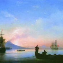 Неаполитанский залив утром. 1843 год.