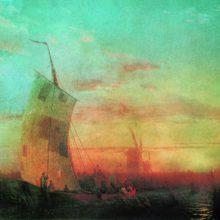 Камыши на Днепре. 1857 год.