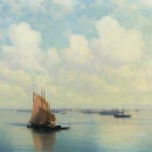 Морской пейзаж. 1871 год.