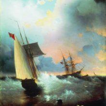 Парусник. 1859 год.