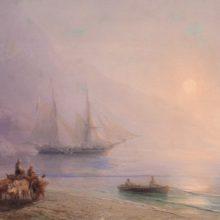 На берегу. 1878 год.