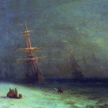 Буря на Северном море. 1875 год.