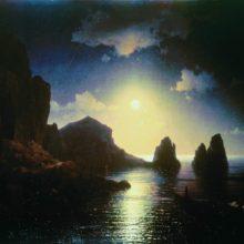 Морской вид. 1841 год.