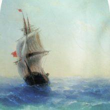 Бушующее море. 1872 год.