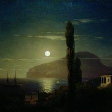 Лунная ночь в Крыму. 1859 год.
