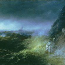Буря на Черном море. 1875 год.