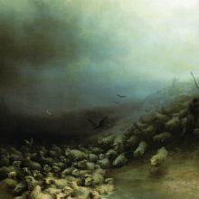 Отара овец в бурю. 1861 год.