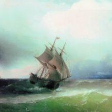 Приближение бури. 1877 год.