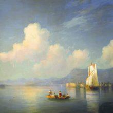 Итальянский пейзаж. Вечер. 1858 год.