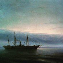 Перед боем. Корабль «Константин». 1872 год.