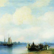 Приезд Петра I на Неву. 1853 год.