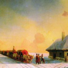 Чумаки в Малороссии. 1870-е год.