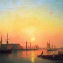 Петербургская биржа. 1847 год.