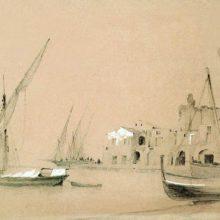 Сорренто. Морской вид. 1842 год.