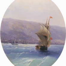 Вид Крыма. 1851 год.
