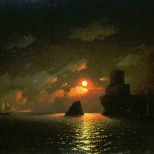Лунная ночь. 1849 год.