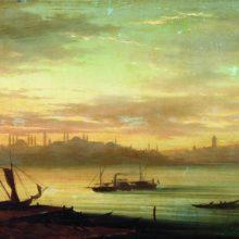 Вид Босфора. 1864 год.