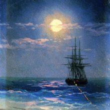 Море ночью.