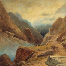 Дарьяльское ущелье. 1891 год.