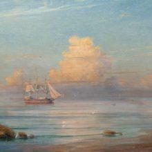 Морской вид. 1899 год.