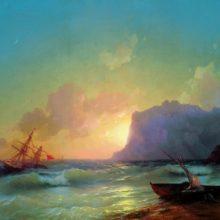 Море. Коктебель. 1853 год.