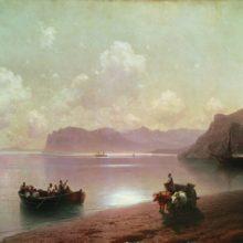 Утро на море. 1883 год.